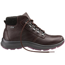 Buy Hotter Wharfe Leather Ankle Boot, Chocolate Online at johnlewis.com