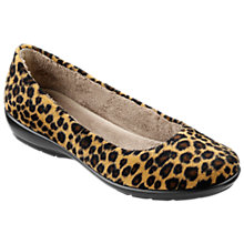 Buy Hotter Poppy Faux Fur Slippers, Leopard Print Online at johnlewis.com