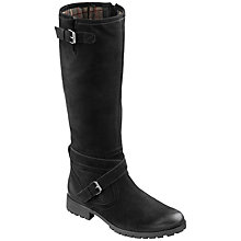 Buy Hotter Belle Buckle Knee High Leather Boots Online at johnlewis.com
