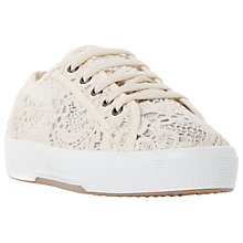 Buy Dune Emerson Flatform Lace Up Trainers Online at johnlewis.com