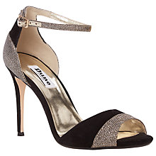 Buy Dune Meena Peep Toe High Heel Sandals Online at johnlewis.com
