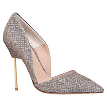 Buy Kurt Geiger Bond Ultra Slim High Heel Court Shoes Online at johnlewis.com