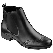 Buy Hotter Shawbury Punch Hole Detail Chelsea Boots Online at johnlewis.com
