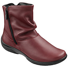 Buy Hotter Made in England Whisper Leather Ankle Boots Online at johnlewis.com