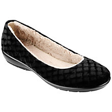 Buy Hotter Poppy Faux Fur Slippers Online at johnlewis.com
