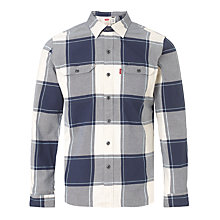 Buy Levi's Worker Window Check Shirt Online at johnlewis.com