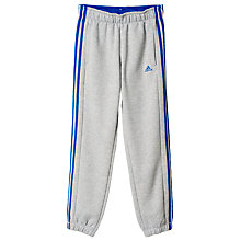 Buy Adidas Young Boys' 3-Stripe Training Pants Online at johnlewis.com