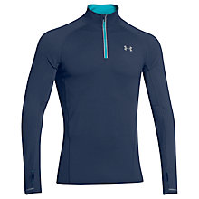 Buy Under Armour Launch Quarter Zip Long Sleeve Running Top, Navy Online at johnlewis.com
