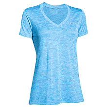 Buy Under Armour Twisted Tech Short Sleeve V-Neck T-Shirt Online at johnlewis.com