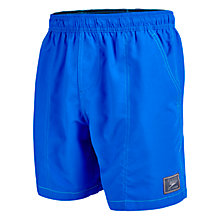"Buy Speedo Check Trim 16"" Watershort Swim Shorts Online at johnlewis.com"