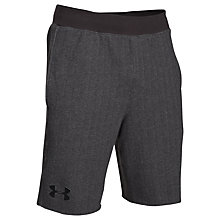 Buy Under Armour Rival Fleece Shorts, Carbon Heather Online at johnlewis.com