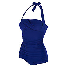 Buy Speedo Sculpture Crystalshine Swimsuit, Indigo Online at johnlewis.com
