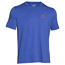 Buy Under Armour Charged Cotton Training T-Shirt, Blue Online at johnlewis.com
