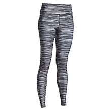 Buy Under Armour HeatGear® Novelty Print Leggings, Black/White Online at johnlewis.com