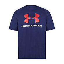 Buy Under Armour Tech Sportstyle Logo T-Shirt Online at johnlewis.com