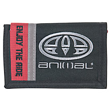Buy Animal Children's Rover Panel Wallet, Black/Red Online at johnlewis.com