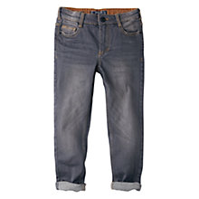 Buy Mango Kids Boys' Washed Skinny Jeans, Grey Online at johnlewis.com
