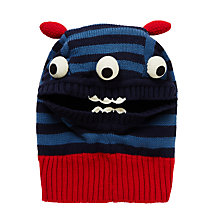 Buy John Lewis Children's Monster Balaclava, Blue Online at johnlewis.com