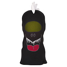 Buy Animal Children's Dino Balaclava, Black, One Size Online at johnlewis.com