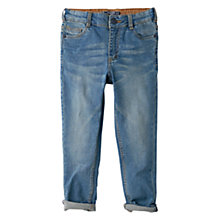 Buy Mango Kids Boys' Distressed Skinny Jeans, Blue Online at johnlewis.com
