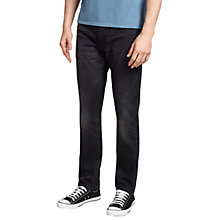 Buy Levi's 522 Slim Tapered Jeans, Toms Black Online at johnlewis.com