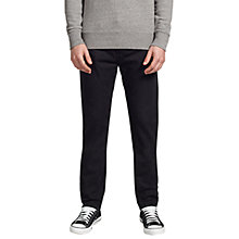 Buy Levi's 522 Slim Tapered Jeans, Jet Online at johnlewis.com
