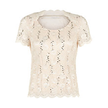 Buy Jacques Vert Petite Cowl Neck Stretch Top, Light Neutral Online at johnlewis.com
