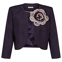 Buy Jacques Vert Raglan Detail Bolero, Dark Purple Online at johnlewis.com