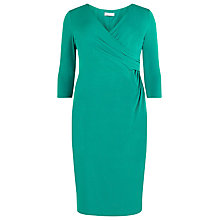 Buy Windsmoor Jersey Dress, Bright Green Online at johnlewis.com