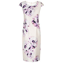 Buy Jacques Vert Petite Placement Dress, Light Pink Online at johnlewis.com