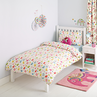 little home at John Lewis Abbey Repeat Duvet Cover and Pillowcase Set