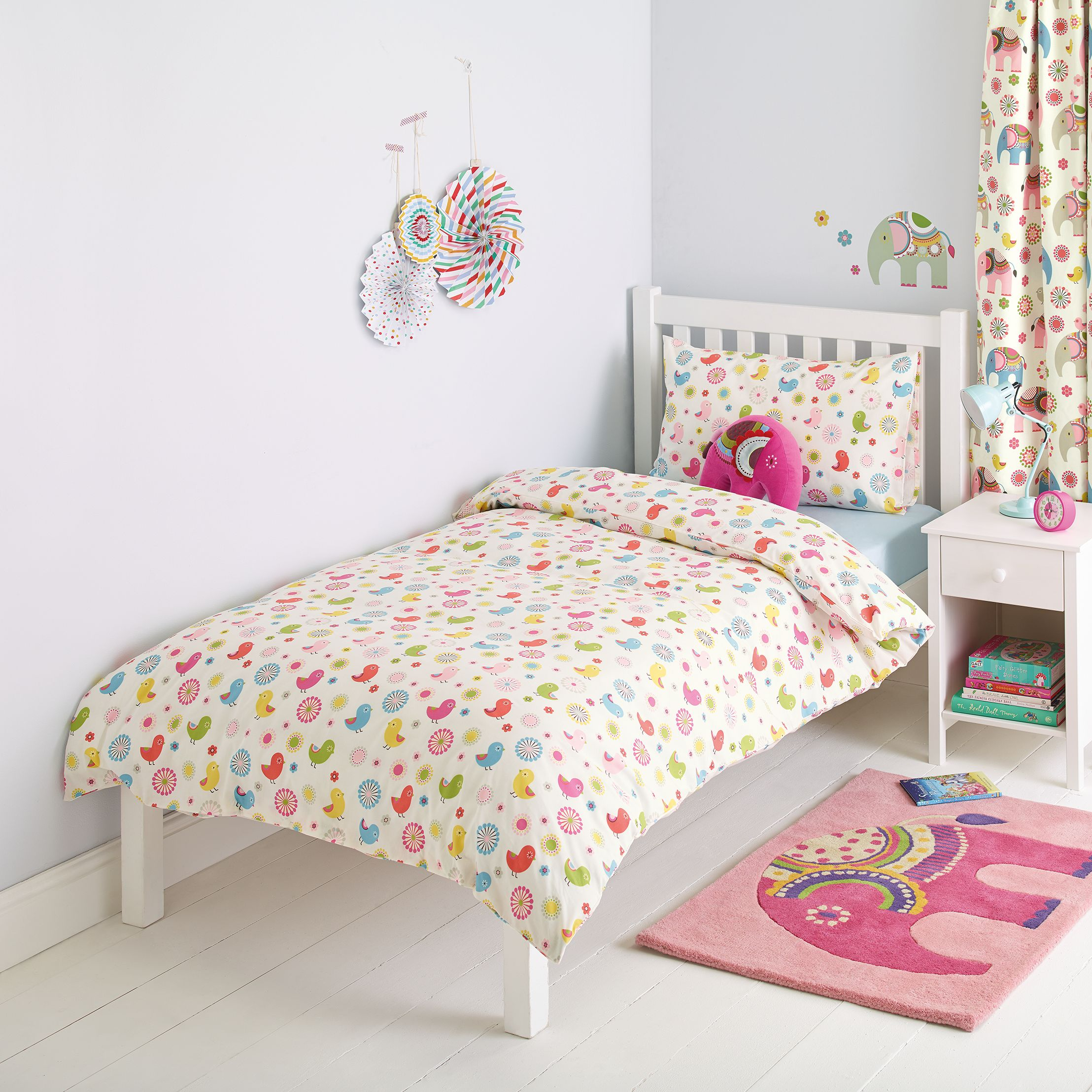 little home at John Lewis little home at John Lewis Abbey Repeat Duvet Cover and Pillowcase Set