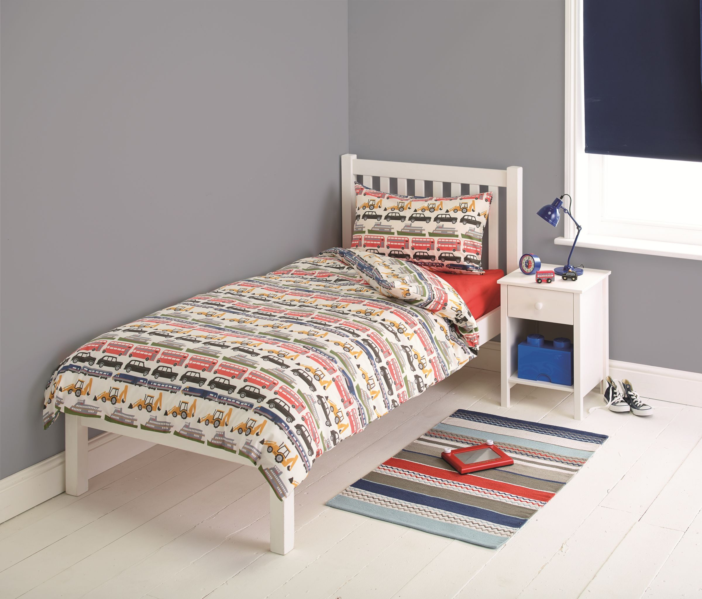 little home at John Lewis little home at John Lewis On the Move Duvet Cover and Pillowcase Set