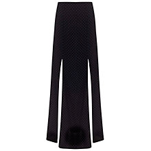 Buy Miss Selfridge Pinspot Maxi Skirt, Black Online at johnlewis.com