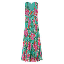 Buy East Abigail Print Maxi Dress, Lagoon Online at johnlewis.com
