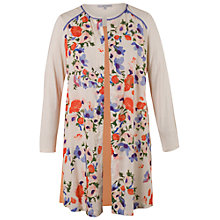 Buy Chesca Floral Jacket, Cream Online at johnlewis.com