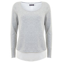 Buy Mint Velvet Marl Tie Back Knitted Jumper Online at johnlewis.com