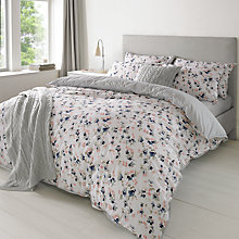 Buy Jigsaw Tinted Bloom Bedding, Smoke Online at johnlewis.com
