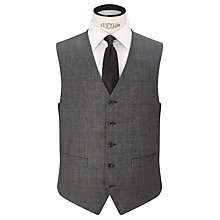 Buy Chester by Chester Barrie Prince of Wales Check Suit Waistcoat, Grey Online at johnlewis.com