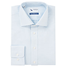 Buy Chester by Chester Barrie Puppytooth Tailored Shirt, White/Blue Online at johnlewis.com