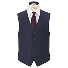 Buy Chester by Chester Barrie Birdseye Tailored Suit Waistcoat, New Blue Online at johnlewis.com