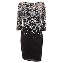 Buy Mint Velvet Willow Print Bodycon Dress, Multi Online at johnlewis.com