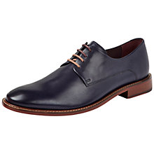 Buy Ted Baker Irron 2 Classic Leather Derby Shoes, Dark Blue Online at johnlewis.com