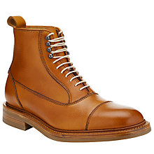 Buy JOHN LEWIS & Co. Jasper Made in England Leather Boots, Tan Online at johnlewis.com