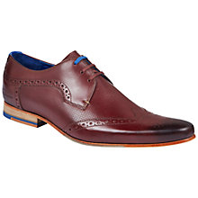 Buy Ted Baker Hann Wingtip Brogues Online at johnlewis.com