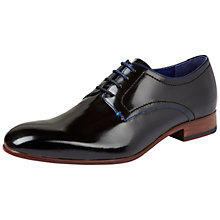 Buy Ted Baker Billay Formal Derby Shoes, Black Online at johnlewis.com