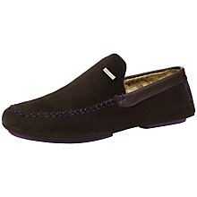 Buy Ted Baker Maddox Moccasin Slippers Online at johnlewis.com