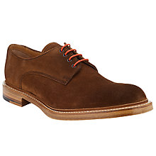 Buy JOHN LEWIS & Co. Made in England Suede Derby Shoes, Brown Online at johnlewis.com