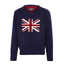 Buy Hackett London Boys' Union Jack Jumper Online at johnlewis.com