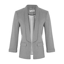 Buy Miss Selfridge Blazer, Grey Online at johnlewis.com